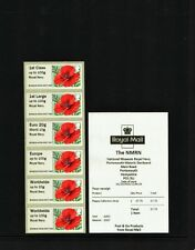2016 NMRN 'ROYAL NAVY' POPPY Ma15 COLLECTOR STRIP BOGB16 OCT Post Go