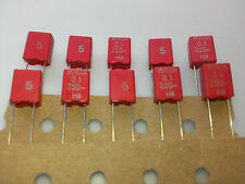 [10 pcs] WIMA MKS2 100nF (0,1uF) 250V 5% Polyester Capacitors  pitch=5mm