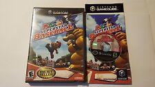 Mario Superstar Baseball Disc Case Manual Nintendo GameCube Game Cube