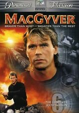 MacGyver: The Complete Sixth Season [6 Discs] 097360708844 (Dvd Used Very Good)