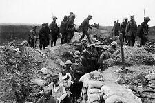 Stampa incorniciata-guerra mondiale 1 GUERRA DI TRINCEA (PICTURE POSTER ww1 ww2 militare dell'esercito)