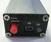 RTL-SDR Soft66Q2 3kHz to 300MHz RTL2832U with RF anp 4 band filter R820T2