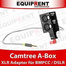 Camtree Hunt A-Box DSLR / BMPCC Audiobox Adapter 2x XLR zu 3.5mm Klinke (EQB62)