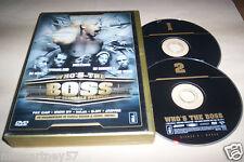 COFFRET 2 DVD WHO'S THE BOSS NTM JOEY STARR DJ SPANK TERROR SEB DJ JAMES ETC ..