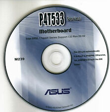 ASUS P4T533 series  Motherboard Drivers Install  M239