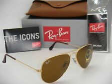 "Ray Ban ""Aviator"" Sunglasses Model 3025/ 001/ 33 Brown B-15 Lens 58 mm"