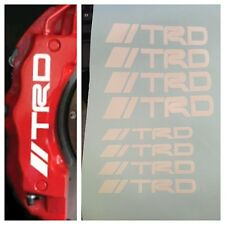 8 pc set TRD Brake Caliper Vinyl Sticker Decal Logo Graphics Emblem Toyota //TRD