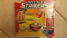 New!! Battle Strikers Starter Pack Dragonblaze,Turbo Tops MEGA BLOCK- USA SELLER