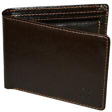 Lederbörse Geldbörse Portemonnaie Börse in Dunkel Braun von MARC CHANTAL