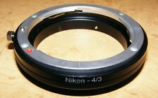 Nikon F to OM Olympus 4/3 Mount Converter Adapter
