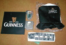 GUINESS BEER LOT OF ITEMS HAT, TIE, 2 SLEEVES of COASTERS and BAR MAT NEW