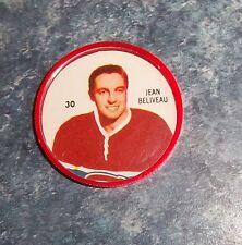 Shirriff / Salada coins hockey 1960-61 # 30 Jean Beliveau Montreal  lot M