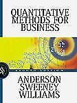 Quantitative Methods for Business by David R. Anderson, Thomas A. Williams...
