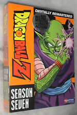 Dragon Ball Z: Temporada 7 Siete SIN CORTAR DVD Box Set NUEVO PRECINTADO
