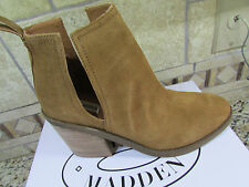 NEW STEVE MADDEN SHARINI CHESTNUT SUEDE BOOTIES BOOTS ANKLE BOOTS WOMENS 10
