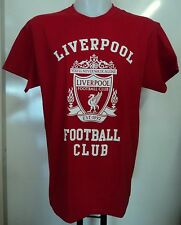 LIVERPOOL BOYS RED COTTON TEE- SHIRT SIZE BOYS 5/6 YEARS OFFICIAL MERCHANDISE