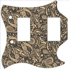 SG Standard Pickguard Custom Gibson Graphical Guitar Pick Guard Paisley BK-CR