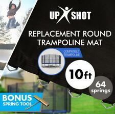 High-Strength USA Made Up-Shot 10ft Replacement Trampoline Mat 10ft - 64 Springs