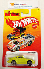 Porsche 930 YELLOW * Hot Ones P Case * Hot Wheels 2012 * W33