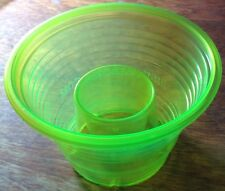 50 Disposable Plastic Bomb Party Shot Glasses Cups Great W/ Jäger NEW NEON GREEN