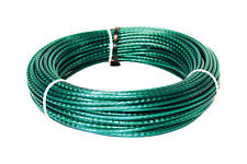 """Ace Weather PVC Coated Resistant Wire Cable Clothesline 5/32"""" x 100'"""