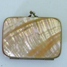 19th CENTURY MOTHER OF PEARL COIN PURSE