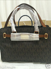 Michael Kors Bag MK Hamilton 35F0GHMT3 Sig Med EW Leather Satchel #COD Paypal