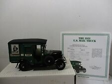 1/24 DANBURY MINT 1931 U.S. MAIL MODEL A PANEL DELIVERY TRUCK