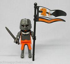 Playmobil (Klicky) Figur ** Ritter / Raubritter mit Schwert und Fahne