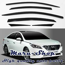 Smoke Door Window Vent Visor Deflector/6pcs for 15+ Hyundai Sonata
