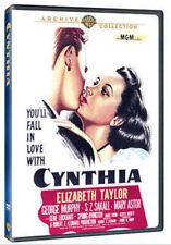 CYNTHIA (1947 Elizabeth Taylor)  Region Free DVD - Sealed