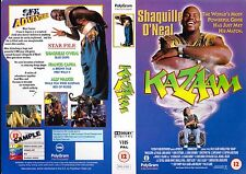 Kazam, Shaquille O'Neal Video Promo Sample Sleeve/Cover #14498