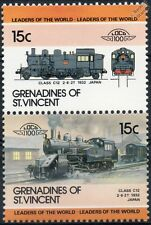 1932 JNR Class C12 2-6-2T (Japanese National Railways) Train Stamps / LOCO 100