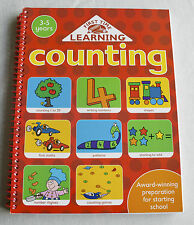 Counting book Math Exercise book Great preparation for starting school 3-5 years