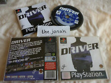 Driver PS1 (COMPLETE) racing driving Sony Playstation original black label car