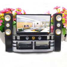 1 Pcs Mini Hi-Fi 1:6 TV Home Theater Cabinet Set Combo For Barbie Doll UK ST