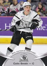 COLIN SMITH 2015-16 15-16 UPPER DECK AHL BASE #54 SAN ANTONIO RAMPAGE !