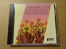 CD / ANTONIN DVORAK - ANDREW CONSTANTINE - JOSEF SUK: SERANADE OP. 6 & 22