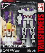 Transformers Generations Titans Returns Voyager DARKMOON & ASTROTRAIN UK