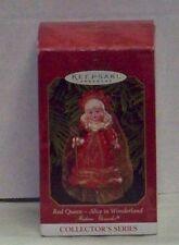 Hallmark Keepsake Ornament Madame Alexander Red Queen Alice In Wonderland  1999