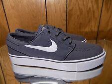 Nike SB Zoom Stefan Janoski Canvas Mens 615957-027 Grey Skate Shoes Size 7