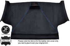 BLUE STITCH FRONT ROOF HEADLINING PU SUEDE COVER FITS VW CADDY MK3 05-15