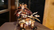 ANTIQUE JAPANESE SAMURAI MUSHA NINGYO GENERAL YOSHITSUNE FROM ART MUSEUM SEATTLE