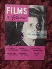 RARE FILMS IN REVIEW magazine May 1961 Sophia Loren Dick Powell Ingmar Bergman