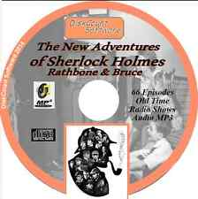 The New Adventures of Sherlock Holmes  Rathbone & Bruce 66 Old Time Radio MP3 CD