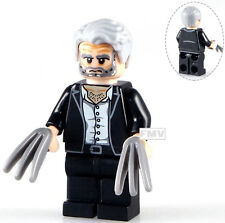 Marvel Fox Xmen X-men Wolverine Old Man Logan Movie Custom Minifigure Fits Lego