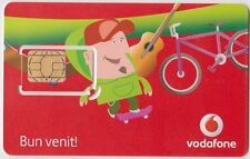 ROMANIA - VINTAGE SIM CARD - VODAFONE = COLLECTABLE ITEM- NOT FOR USE IN MOBILE