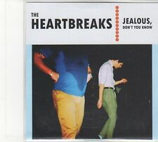 (FD253) The Heartbreaks, Jealous, Don't You Know - 2011 DJ CD