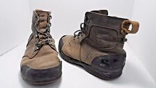 SOREL Men's Ankeny Mid Hiker Tabacco/Black Winter Boot Brown 9.5 Used w/ Defects