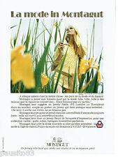 PUBLICITE ADVERTISING 115  1972  Les tricots en jersey Montagut Tanger